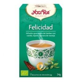 YOGI TEA FELICIDAD de YOGI TEA, 17infusiones