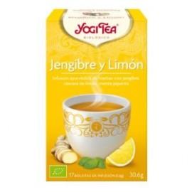 YOGI TEA JENGIBRE y LIMON de YOGI TEA, 17infusiones