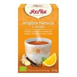 YOGI TEA JENGIBRE-NARANJA-VAINILLA de YOGI TEA, 17infusiones
