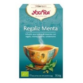 YOGI TEA REGALIZ y MENTA de YOGI TEA, 17infusiones