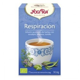YOGI TEA RESPIRACION de YOGI TEA, 17infusiones