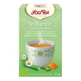 YOGI TEA TE BLANCO con aloe vera de YOGI TEA, 17infusiones