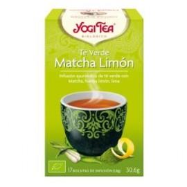 YOGI TEA TE VERDE MATCHA LIMON de YOGI TEA, 17infusiones