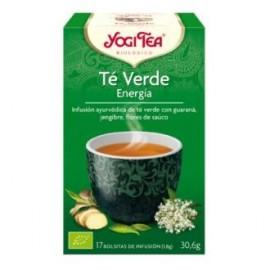 YOGI TEA VERDE ENERGIA de YOGI TEA, 17infusiones