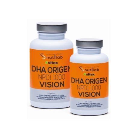 DHA ORIGEN NPD1 VISION de NUTILAB, 120perlas
