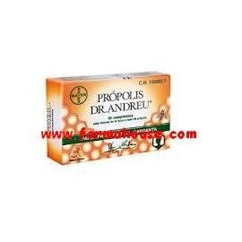 PROPOLIS DR ANDREU 20 COMPRIMIDOS
