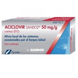 Aciclovir sandoz care crema...