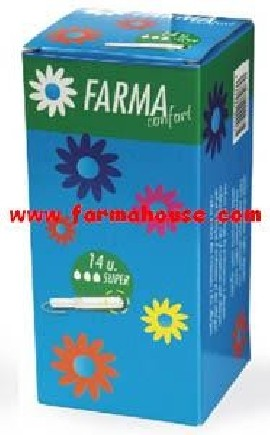 TAMPONES SUPER FARMACONFORT 14 UNIDADES