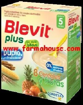 PLUS BLEVIT DUPLO 8 CEREALS AND FRUITS 600 GR