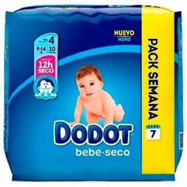 PAÑAL DODOT T4 8-14 KG 30 UNIDADES