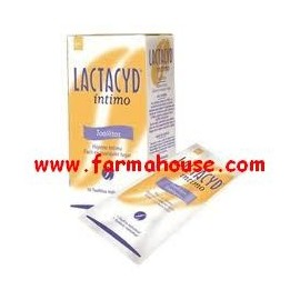 INTIMATE 10 UNIT Lactacyd WIPES