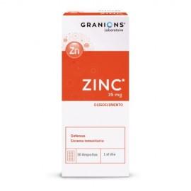 GRANIONS ZINC 30 ampollas