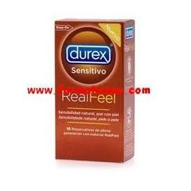DUREX PROFIL REAL FEEL 10 UNIDADES