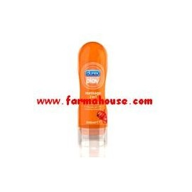 LUBRICANTE DUREX PLAY MASSAGE ESTIMULANTE 200ML