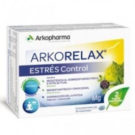 ARKORELAX STRESS CONTROL ARKOPHARMA 30 COMPRIMIDOS
