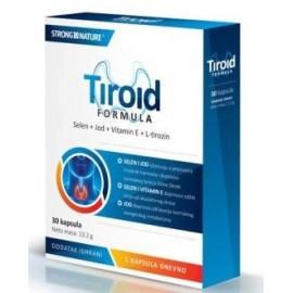 TIROID FORMULA 30 capsulas strong natural