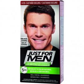 JUST FOR MEN CASTAÑO OSCURO 30ML