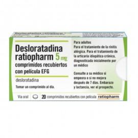 DESLORATADINA RATIOPHARM 5...