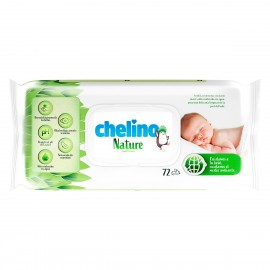TOALLITAS CHELINO NATURE 72 U