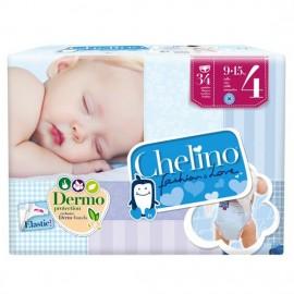 PAÑAL CHELINO INFANTIL T.4 9-15KG 34 UNI