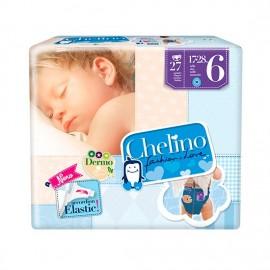 PAÑAL CHELINO INFANTIL T6 17-28KG 27 UN