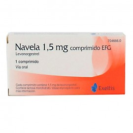 anticonceptivo de emergencia navela