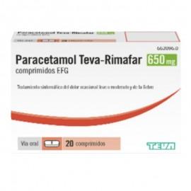 PARACETAMOL TEVA 650MG 20...