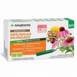 ARKOPHARMA ARKOFLUIDO IMUNIDAD BIO 20 AMPOLLLAS