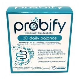 PROBIFY DAILY BALANCE 15 CAPSULAS