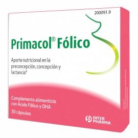 PRIMACOL FOLICO 30CAPS
