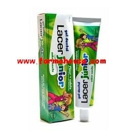 GEL LACER JUNIOR MENTA 75 ML