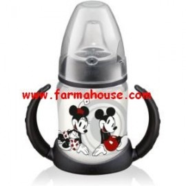 TRAINING BOTTLE 150ML SILICONE NUK MICKEY MOUSE