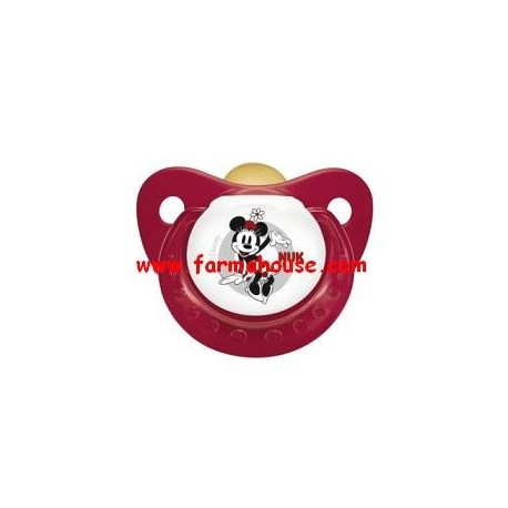 MICKEY MOUSE LATEX NUK SOOTHER +0 M SIZE 2