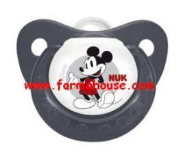 MICKEY MOUSE SOOTHER NUK SILICONE 6-18M SIZE 1