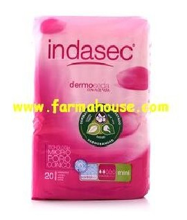 INCONTINENCE INDASEC MINI 20 UNITS