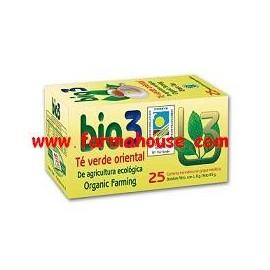 BIO GREEN TEA INFUSION 3 EAST 25 UNITS