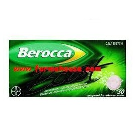 Berocca effervescent S BOOST 30 TABLETS