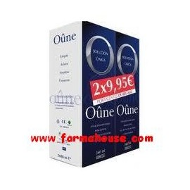PACK SOLUCION UNICA OUNE 2x360 ML