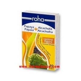 ROHA PAPAYA ALCACHOFA 30 GRAGEAS