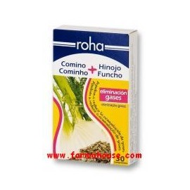 CUMIN ROHA S + FENNEL 30 TABLETS