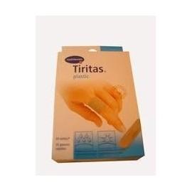 TIRITAS UNITEX PLASTICO 20 UDS SURTIDAS