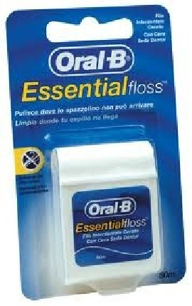 essential floss oral b