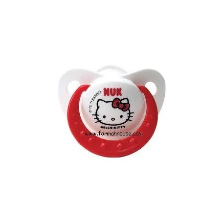 NUK HELLO KITTY PACIFIER  RUBBER T2
