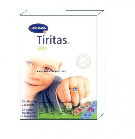 TIRITAS UNITEX KIDS DE HARTMANN 20 UDS
