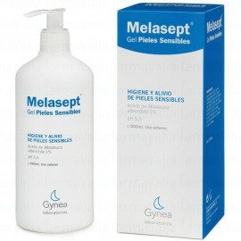Melasept gel pieles sensibles, 500 ml