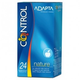 CONTROL ADAPTA 24 COMDOMS