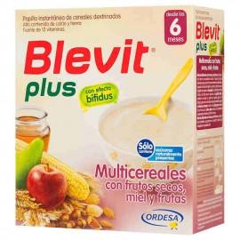 Blevit Plus Multicereales con frutos secos, miel y frutas