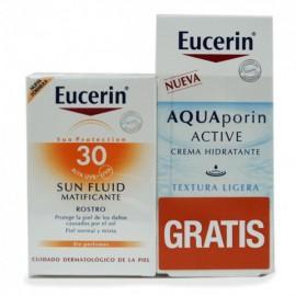 Pack fluido Eucerin solar matifi f+30, + aftersun