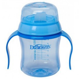 TAZA DR BROWN EDUCATIVA + 6 MESES 180ML