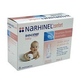 Narhinel confort aspirador recambio 20 boquillas